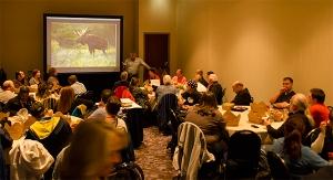 Moose Peterson Photo Safari - classroom prep.