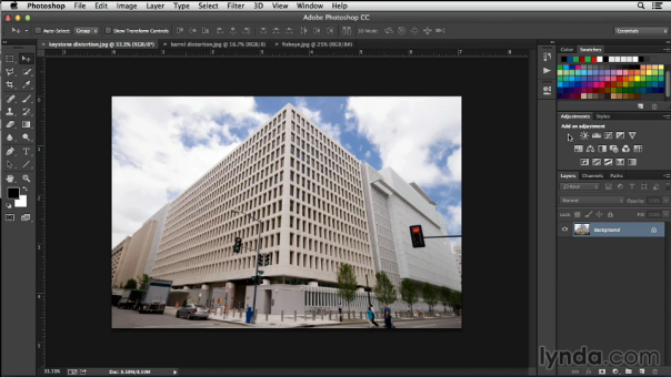 Working with Perspective in Adobe Photoshop