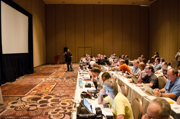 """RC kicks off his """"HDR Workshop"""" with a packed house."""