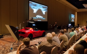 Tim Wallace discusses how to photograph exotic cars